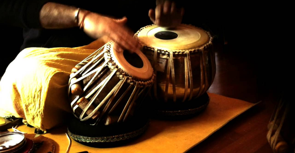 Biography of an Indian Tabla player Pandit Shyam Kane