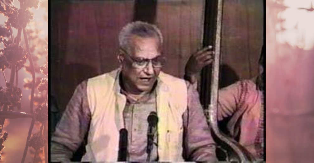 Biography of Shrikrishna Narayan Ratanjankar