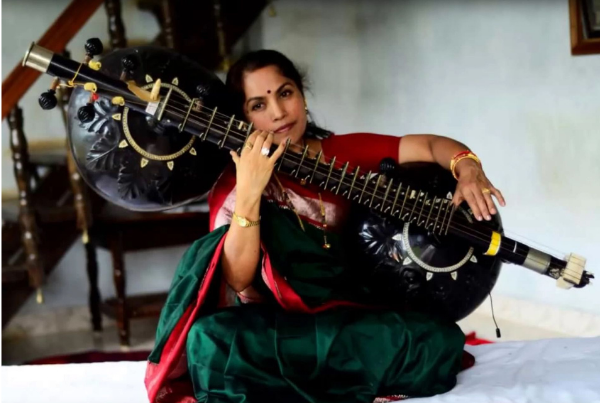 Meet Vidushi Jyoti Hegde, the first female Rudra Veena player in the world